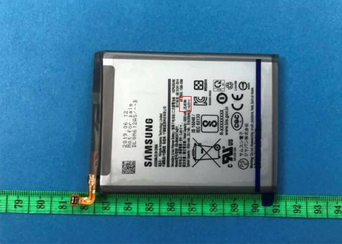 گوشی هوشمند گلکسی M20s با ظرفیت باتری ۶۰۰۰ میلی آمپرساعتی