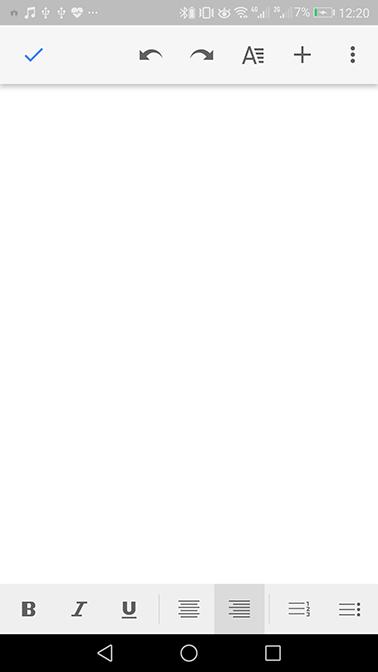 برنامه گوگل داکس (Google Docs)؛ بهترین سند واژه پرداز اندروید | رسانه چیکاو