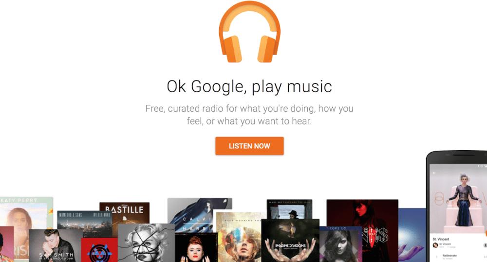 برنامه گوگل پلی موزیک | اپلیکیشن Google play music | رسانه چیکاو