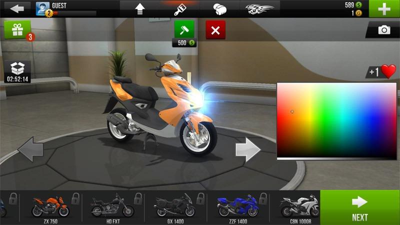 بازی موتور سواری Traffic Rider | رسانه چیکاو