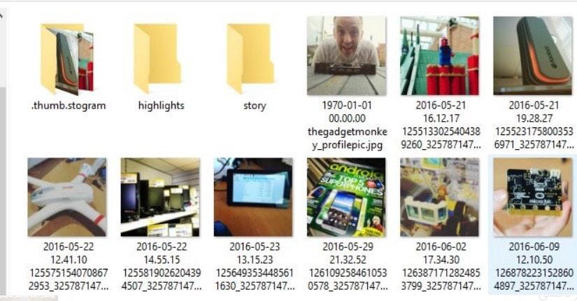 ذخیره عکس و فیلم در ابزار 4kstogram - چیکاو