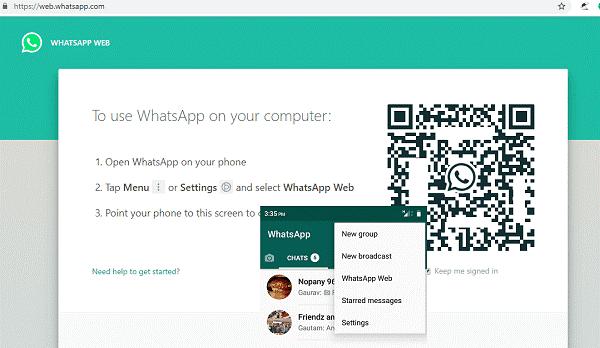 نسخه وب واتساپ برای اتصال به گوشی - چیکاو