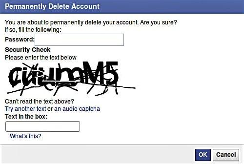 نحوه ديليت اكانت فيسبوک فارسي - چیکاو
