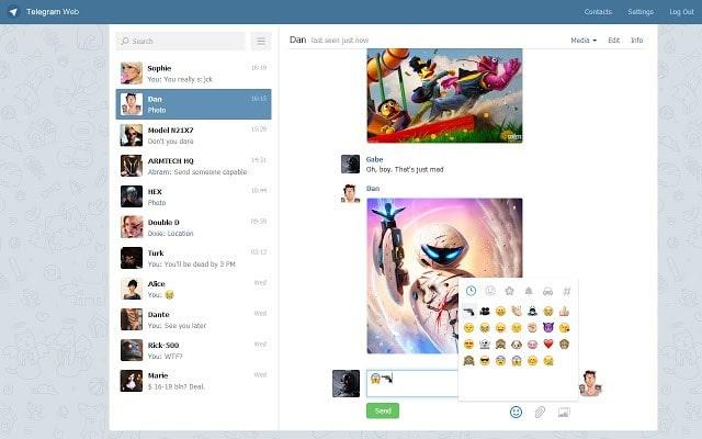 تلگرام وب كجاست - چیکاو