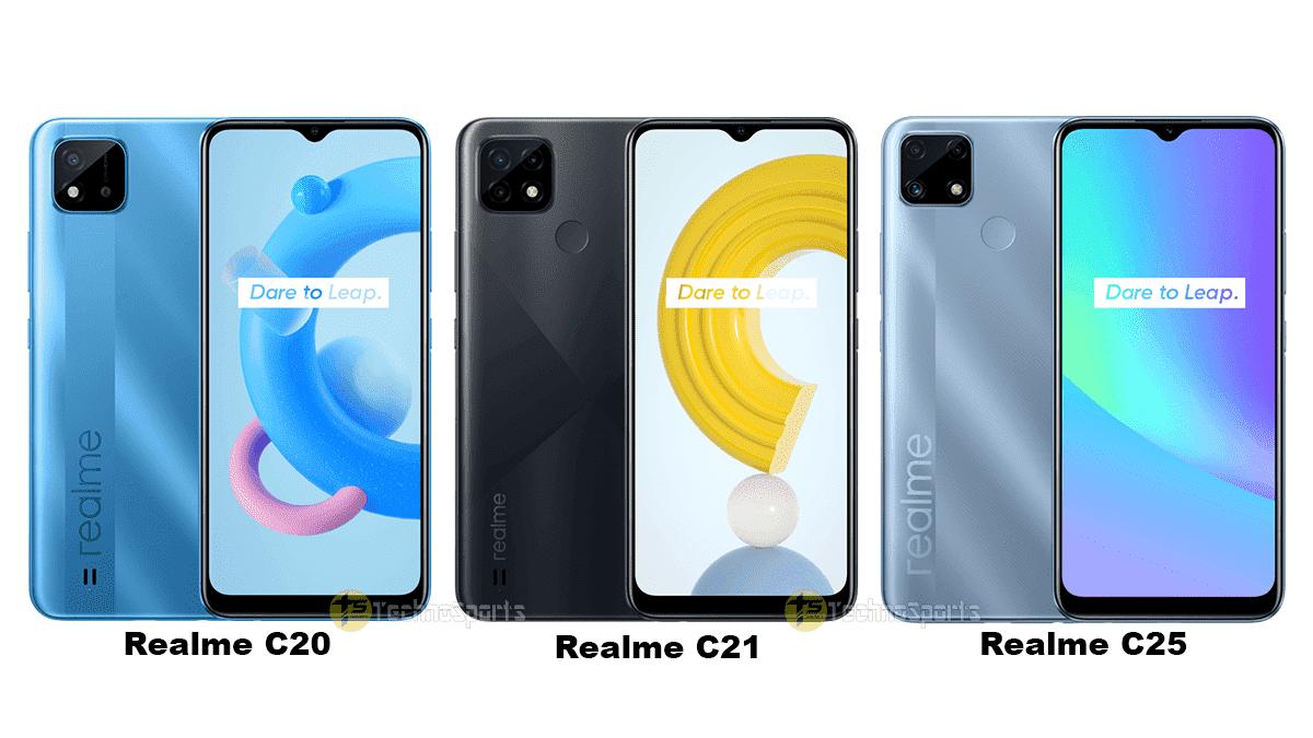 گوشی های مقرون به صرفه C20 و C21 و C25 ریلمی معرفی شدند - چیکاو