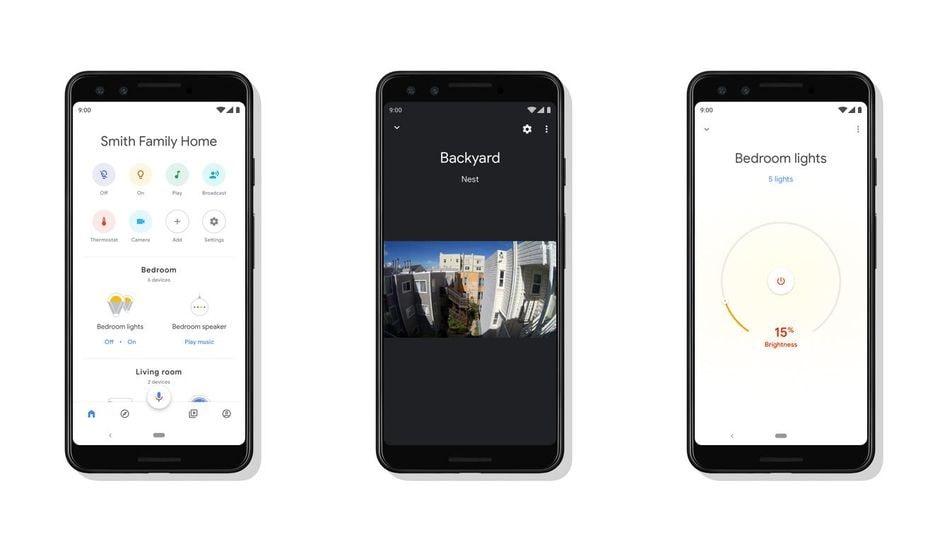 برنامه Google Home / بهترین برنامه های کاربردی اندروید / چیکاو