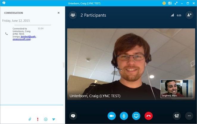 تماس تصویری در نرم افزار اسکایپ - چیکاو