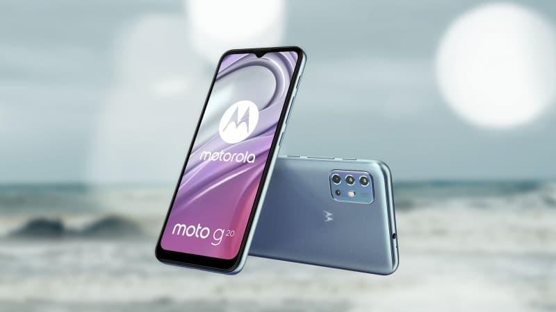 موتورولا موتو جی 20 به صورت رسمی معرفی شد - چیکاو