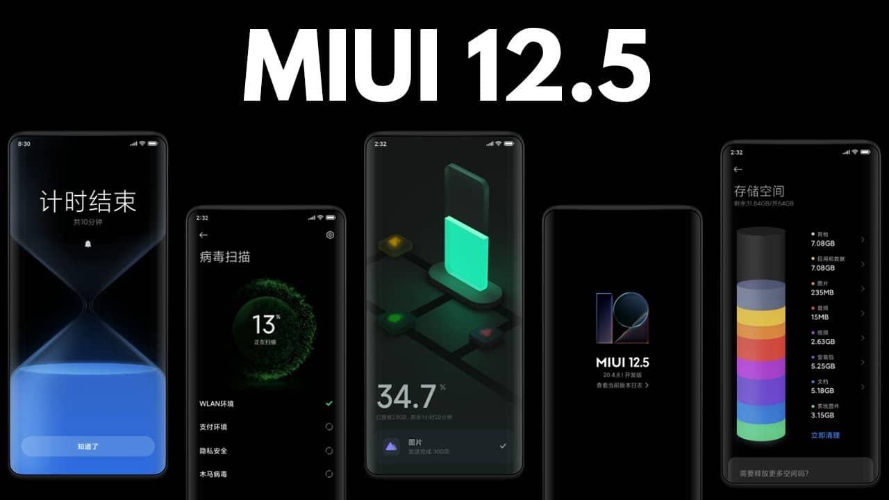 لیست گوشی های شیائومی که MIUI 12.5 دریافت می کنند، مشخص شد - چیکاو