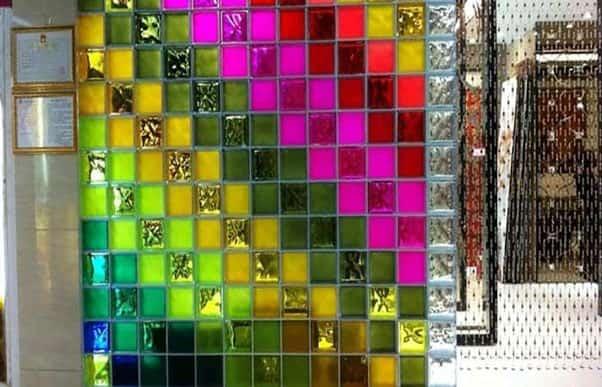 کاربرد شیشه رنگی در دکوراسیون داخلی - چیکاو