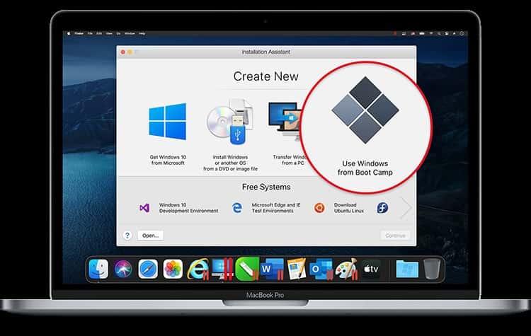 مرحله چهار آموزش نصب ویندوز روی مک - چیکاو