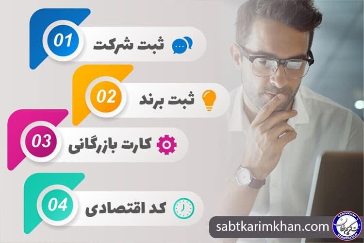 ثبت شرکت و علامت تجاری در موسسه ثبتی کریم خان - چیکاو