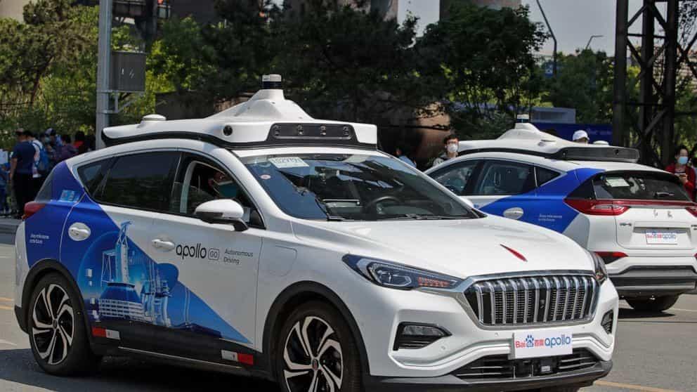 مدیرعامل بایدو از خودرو کاملاً خودران «روبوکار» با استفاده از هوش مصنوعی رونمایی کرد - چیکاو