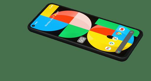 تصویر صفحه نمایش Google Pixel 5a - چیکاو