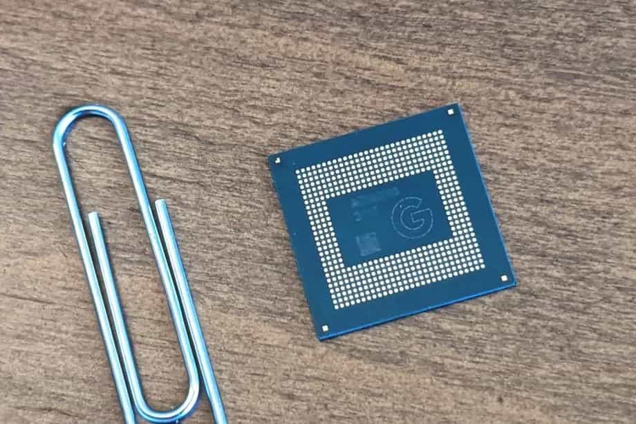 پردازندهی Tensor SoC گوگل - چیکاو