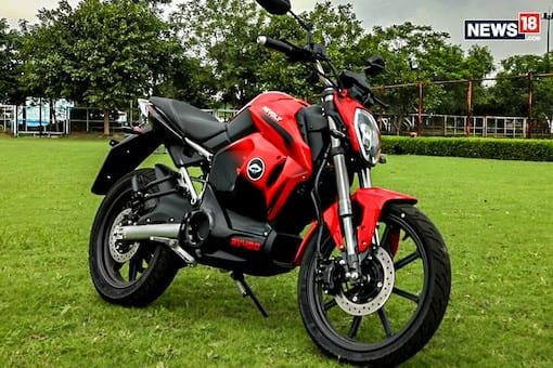 موتورسیکلت برقی RV400 - چیکاو
