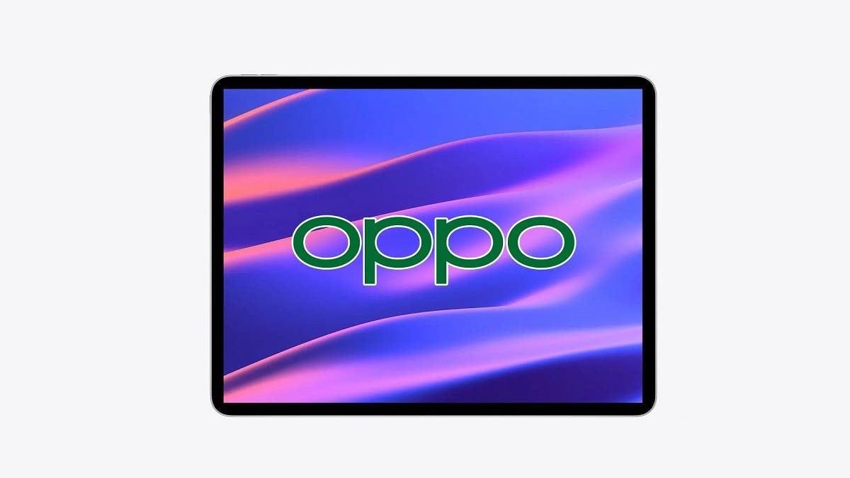 اولین تصویر از اولین تبلت اوپو که دستگاهی بالا رده است، فاش شد - چیکاو