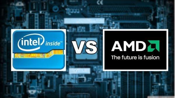 مقایسه پردازنده اینتل و AMD - چیکاو