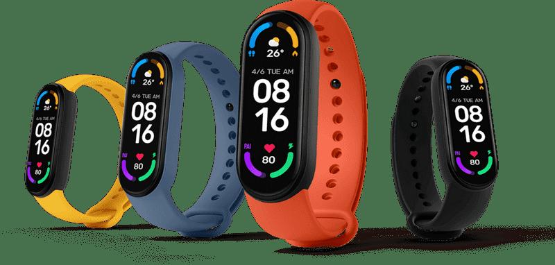 عکس صفحه نمایش و رنگ بندی ساعت جدید شیائومی - چیکاو