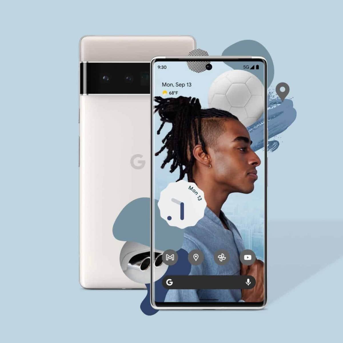 صفحه نمایش و پنل پشتی گوگل پیکسل 6 - چیکاو