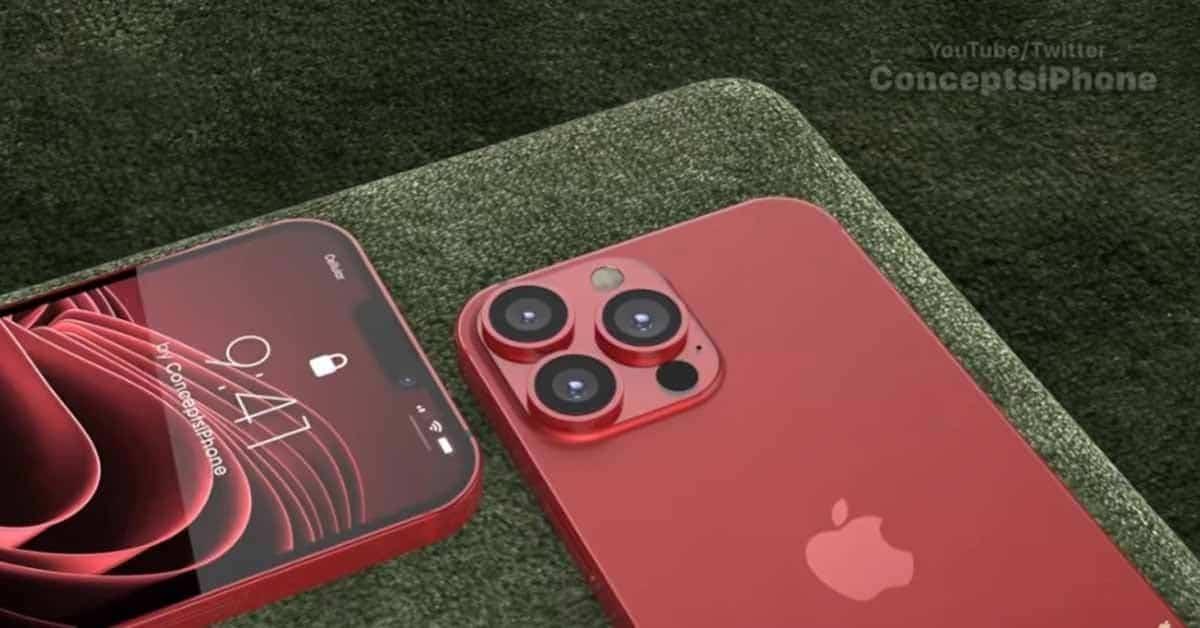 ماژول دوربین گوشی های اپل مجهز به  لنزهای پریسکوپ - چیکاو
