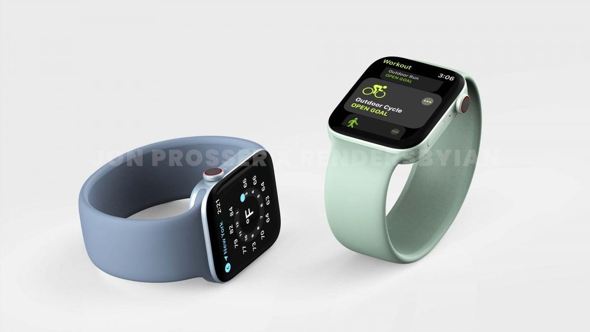 رنگ بندی ساعت های هوشمند سری 7 اپل - چیکاو