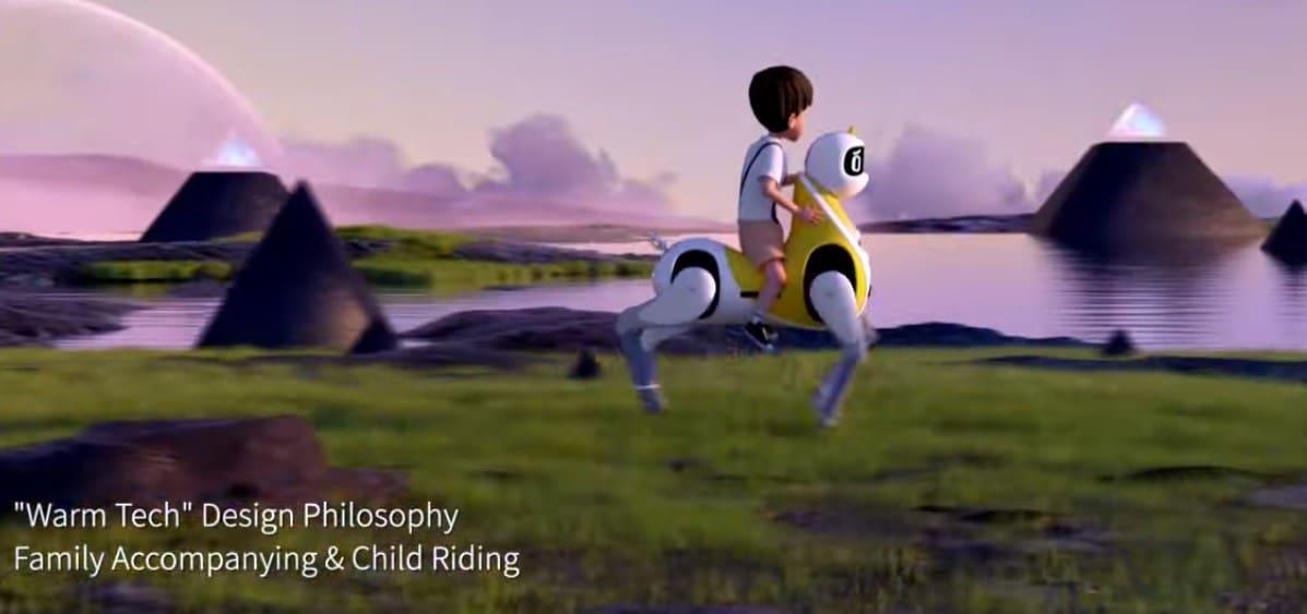 ربات اسب سواری برای کودکان - چیکاو