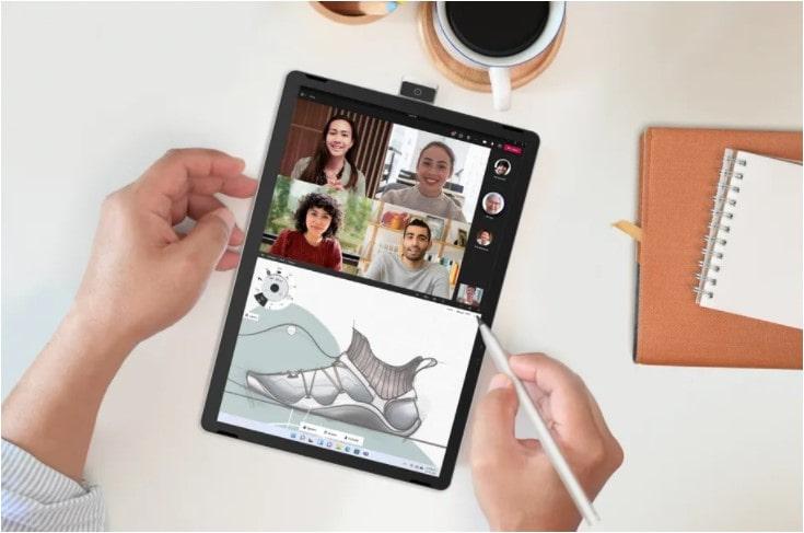 HP تبلت 11 اینچی با قلم و دوربین 13 مگاپیکسلی چرخشی به عنوان رقیب سرفیس گو عرضه می کند - چیکاو