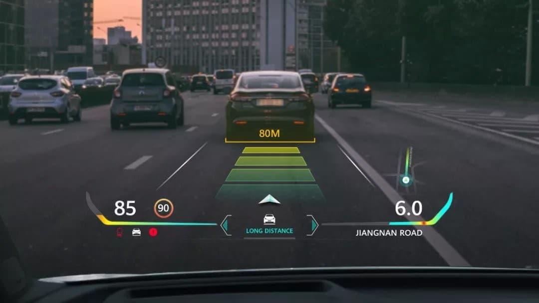 فناوری جدید AR HUD در صفحه نمایش هواوی - چیکاو