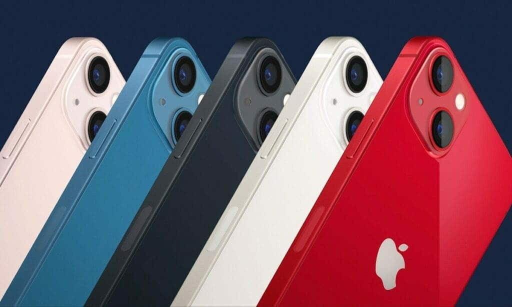 رنگ بندی گوشی های سری آیفون 13 اپل - چیکاو