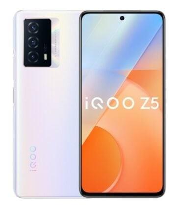 صفحه نمایش گوشی هوشمند iQOO Z5 5G - چیکاو