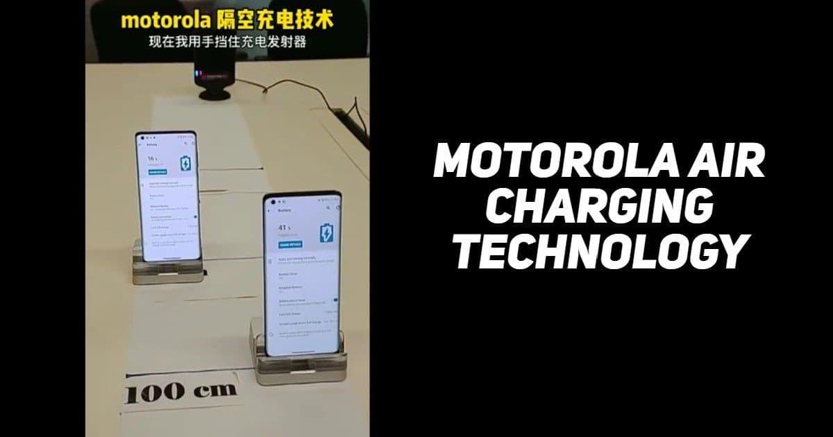 شارژ هوایی موتورولا - چیکاو