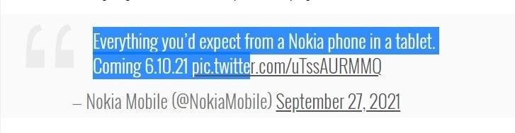 هر آنچه از یک گوشی نوکیا در یک تبلت انتظار دارید. در آینده - چیکاو