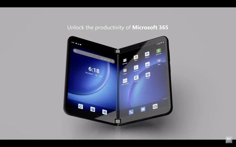 مایکروسافت طراحی سرفیس دوئو ۲ را با نمایشگرهای جدید اصلاح کرده است - چیکاو