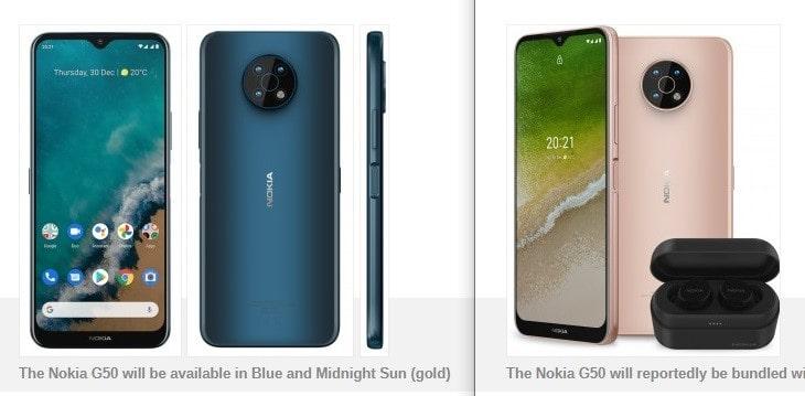 گوشی هوشمند نوکیا جی ۵۰ ۵جی در FCC ظاهر شد و ظرفیت باتری آن تأیید گردید - چیکاو