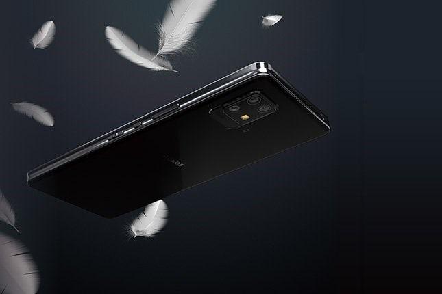 گوشی شارپ آکیوس زیرو ۶ سبک ترین تلفن هوشمند ۵جی با باتری و صفحه نمایش بزرگ است - چیکاو