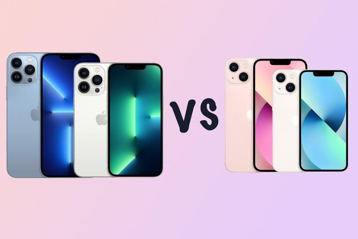 غول های جدید اپل چه تفاوت هایی با یکدیگر دارند؛ مقایسه گوشی های آیفون ۱۳ مینی با آیفون ۱۳ - چیکاو