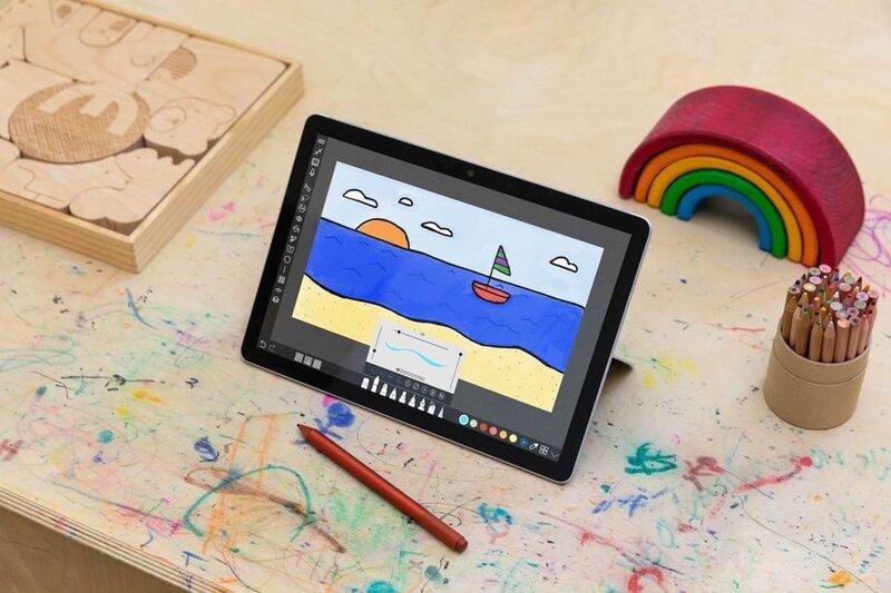 دستگاه تبلت سرفیس گو ۳ مایکروسافت به پردازنده های جدید و قدرتمند اینتل مجهز می شود - چیکاو