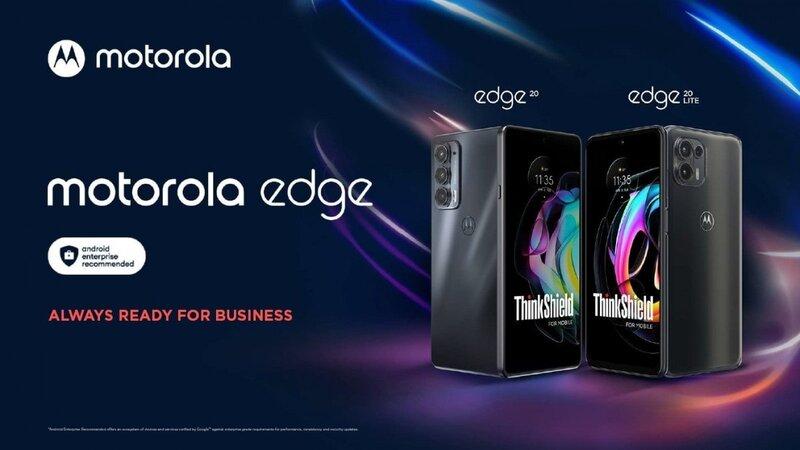 موتورولا از گوشیهای سری بیزنس، نسخه های ادیشن بیزنس اج ۲۰ و اج ۲۰ لایت را روانه بازار کرد - چیکاو