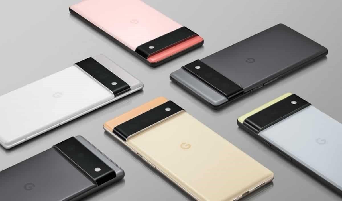 پنل پشتی و رنگ بندی گوشیهای هوشمند گوگل پیکسل ۶ و پیکسل ۶ پرو - چیکاو