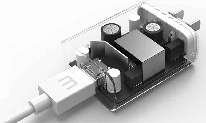 ساختار شارژر گوشی های اپل - چیکاو