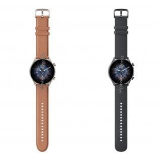 رندرها و قیمت ساعت های هوشمند جی تی آر ۳، جی تی آر ۳ پرو و جی تی اس ۳ آمزفیت فاش شد - چیکاو
