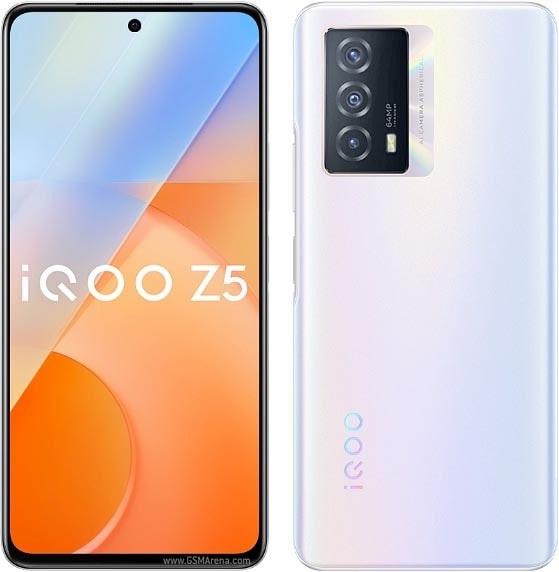 صفحه نمایش و پنل پشتی گوشی هوشمند ویوو IQOO Z5- چیکاو