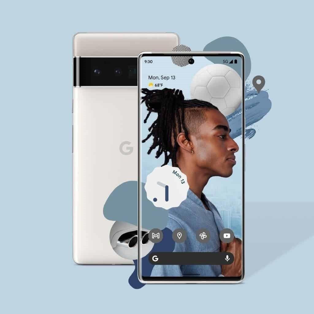 نل جلو و پشتی گوگل پیکسل ۶ پرو - چیکاو