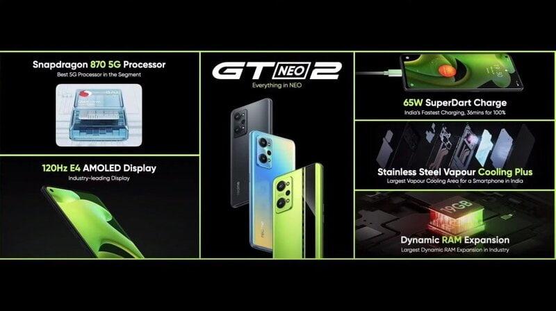 مشخصات فنی و رنگ بندی گوشی جی تی نئو ۲ - چیکاو